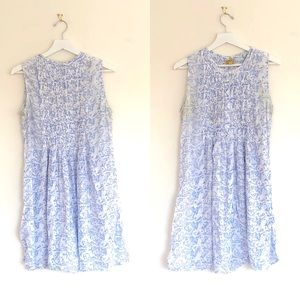 Roller Rabbit Sleeveless Pintuck Tunic Dress